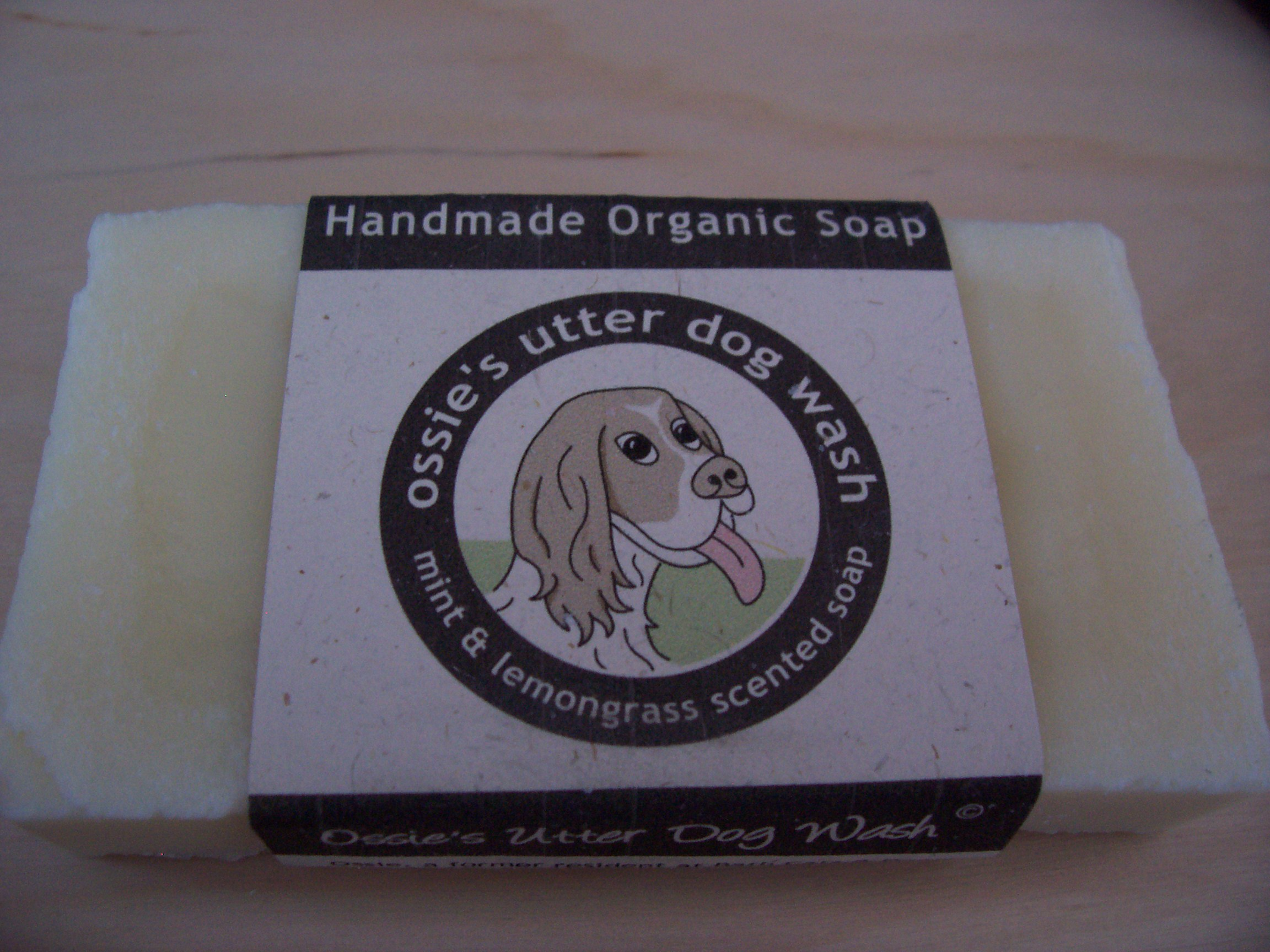 Ossie's Utter Dogwash Soap