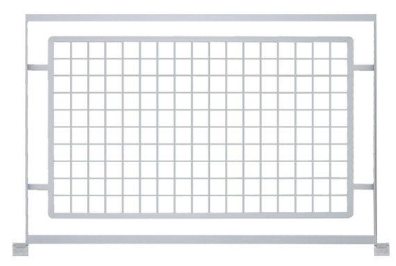 modern grid railing