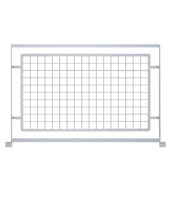 contemporary grid railing