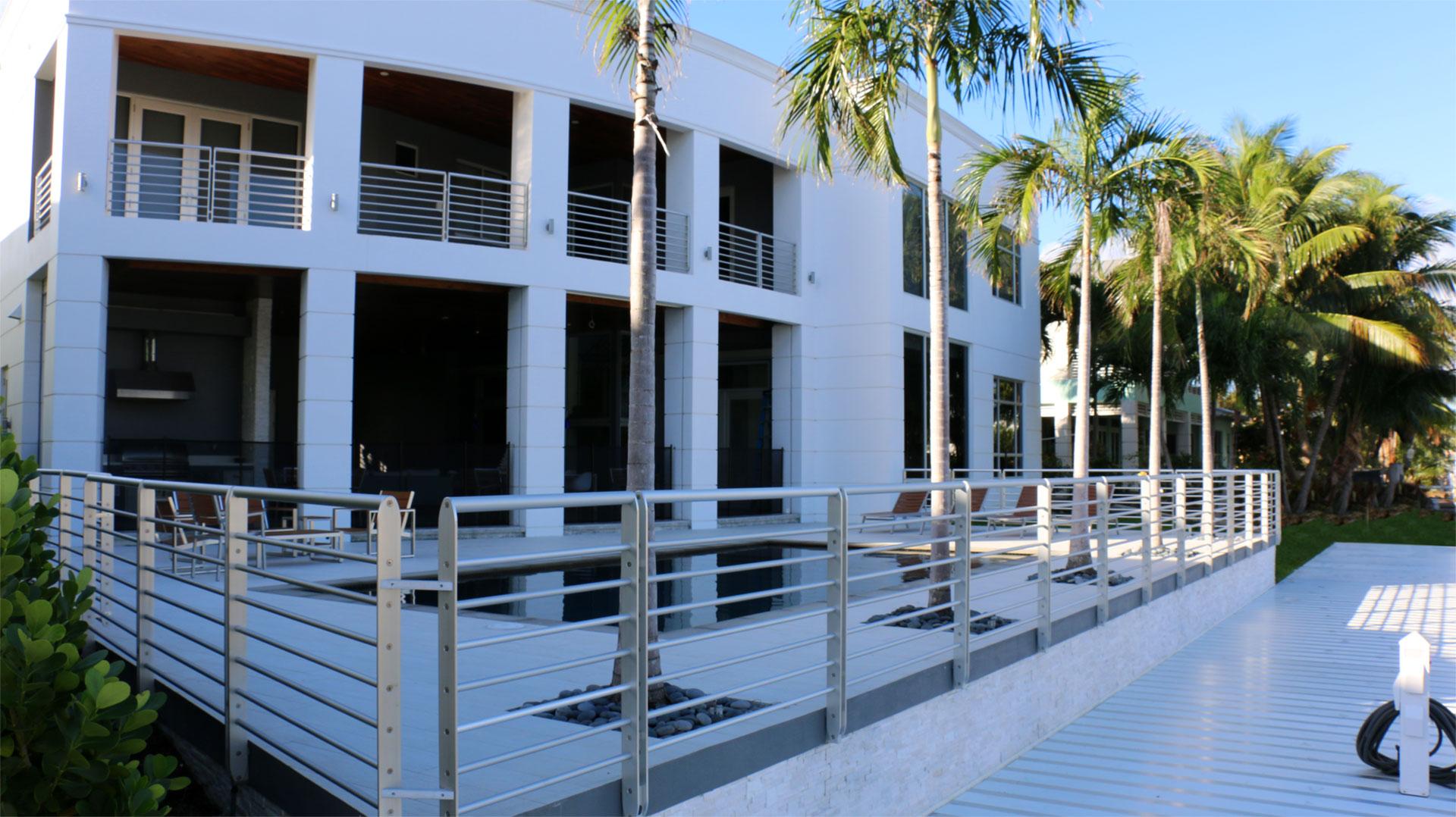 epulum horizontal railing