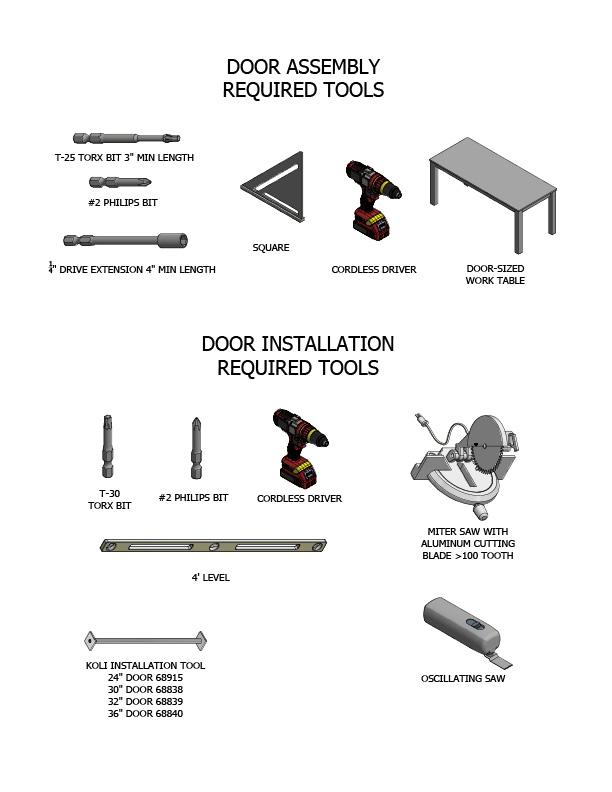 koli door instructions step 3