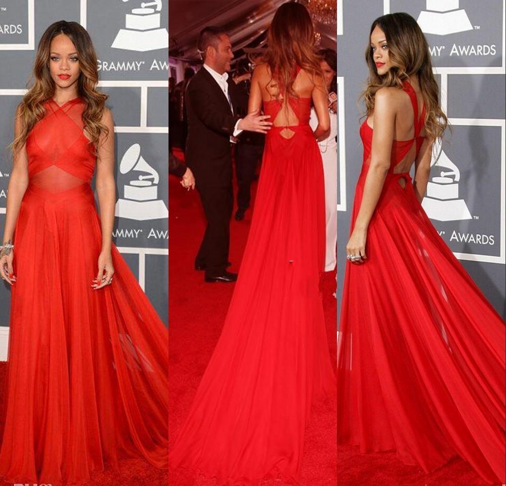 55th-font-b-Grammy-b-font-font-b-Rihanna-b-font-font-b-Dress-b-font