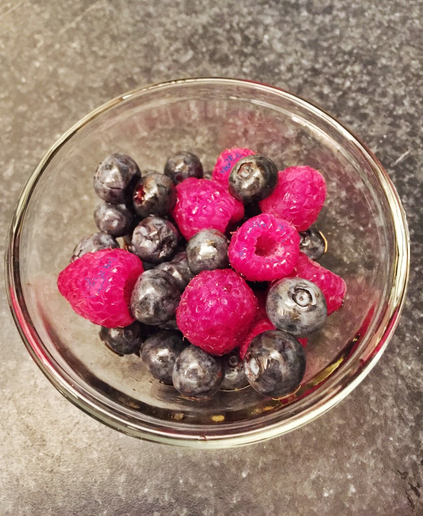 Baked Balsamic Berries