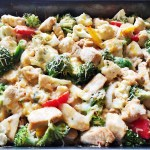 homemade teriyaki chicken stirfry bake