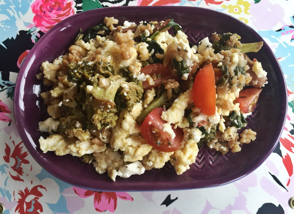 """Healthy-Homemade-Vegetarian-Fried-Rice"""