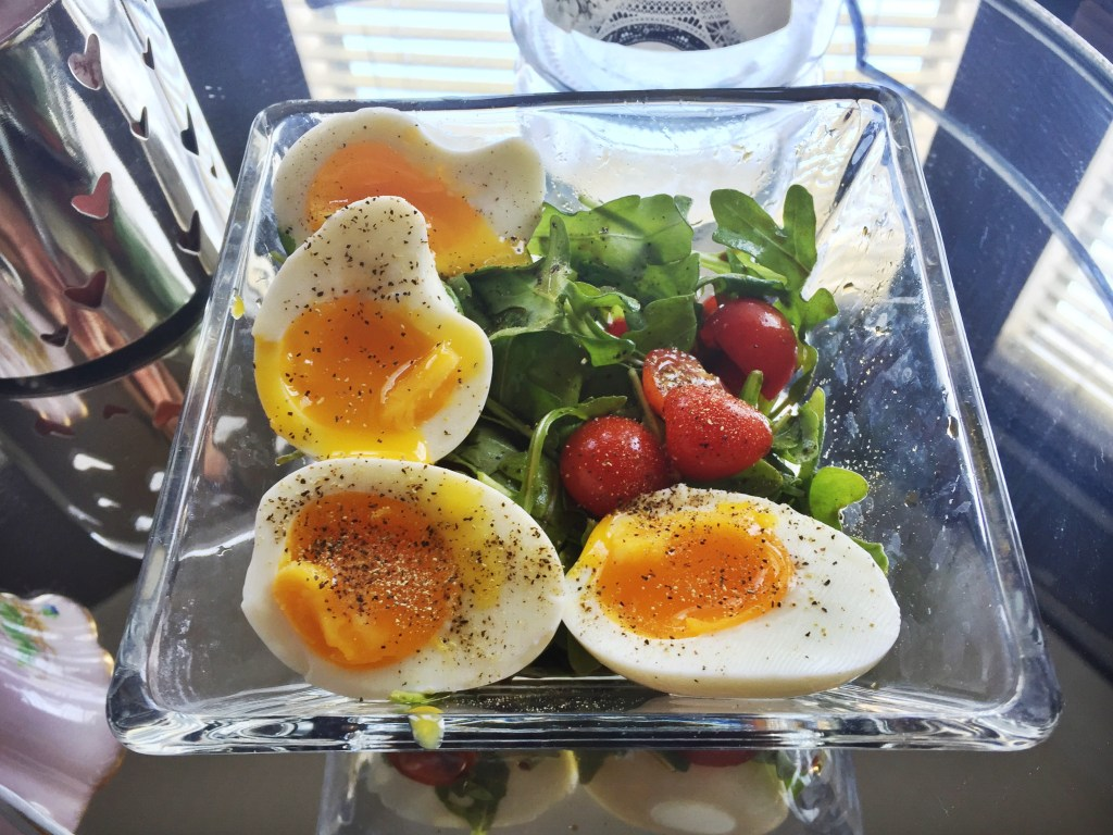 """Caprese-Salad-Soft-Boiled-Eggs"""