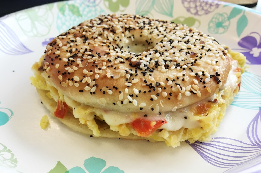 """Meal-Prep-Roasted-Red-Pepper-Breakfast-Sandwiches"""