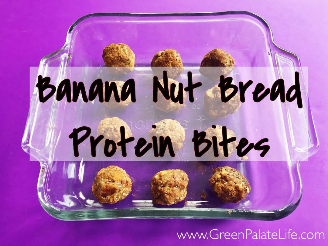Banana Nut Bread Protein Bites