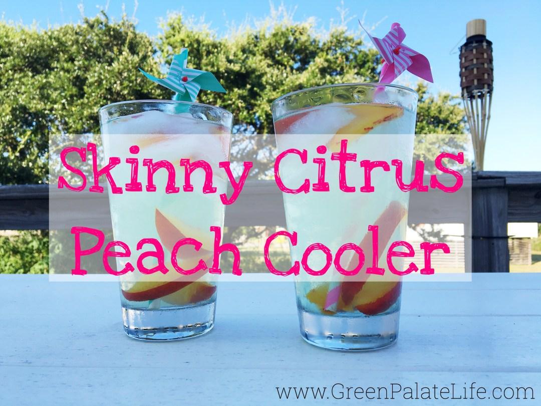 Skinny Citrus Peach Cooler
