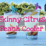 Skinny Citrus Peach Cooler