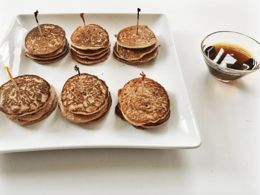 Cinnamon Peanut Butter Protein Pancake
