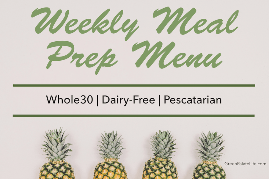 pescatarian dairy-free whole30 meal plan