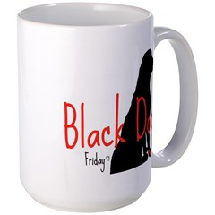 COFFEE MUG LARGE - BLACK DOG FRIDAY