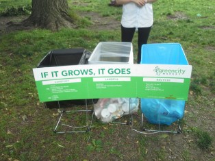 Recycle/compost station 1