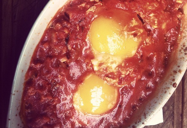 Eggs in Purgatory Recipe