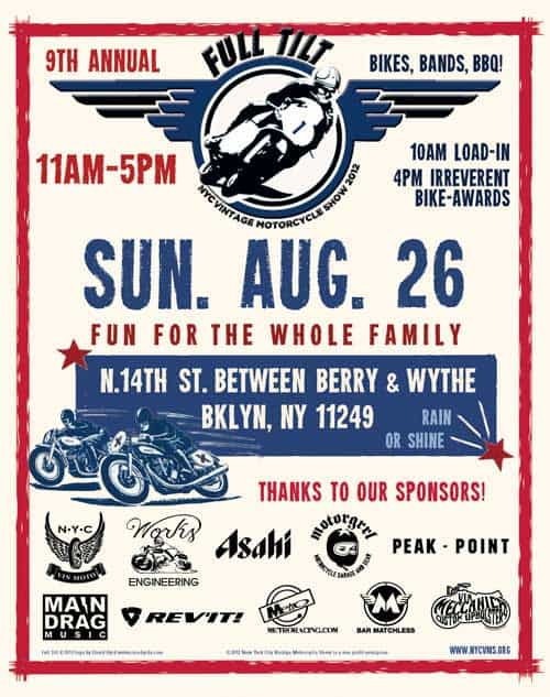 NYC Vintage Motorcycle Show