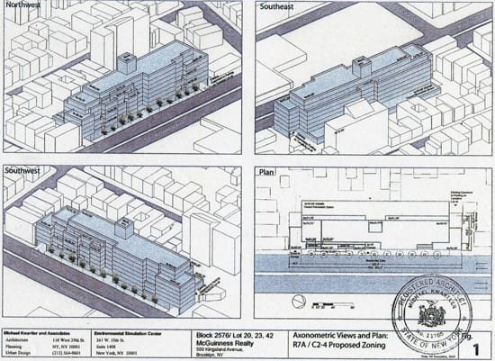 Proposed Zoning Greenpoint Brooklyn
