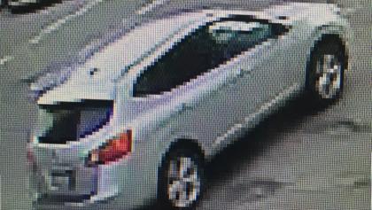 Video surveillance of the pervert's car.