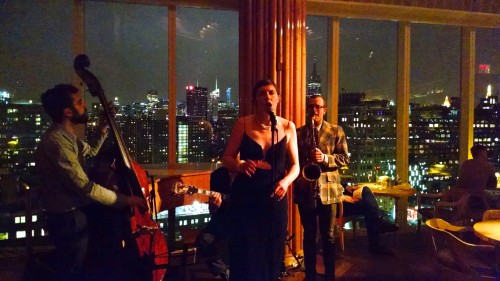 Sweet Megg & the Wayfarers performing at The Standard Hotel.