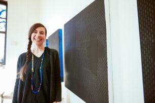 Drawer and painter, Alison Hall is one of three artists selected for residency in the new studios. Go girl!