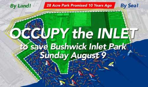 OCCUPY Bushwick Inlet
