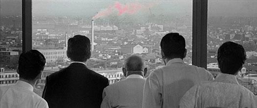 A little splash of color in Akira Kurosawa's High & Low