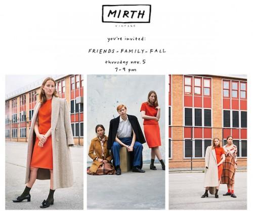 Mirth Fall Shopping Event