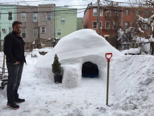 It's that igloo. You know the one.