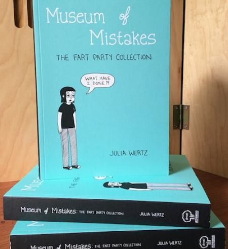Museum of Mistakes by Julia Wertz