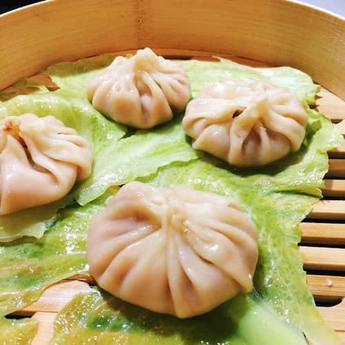 Spicy soup inside each dumpling? Yes please!