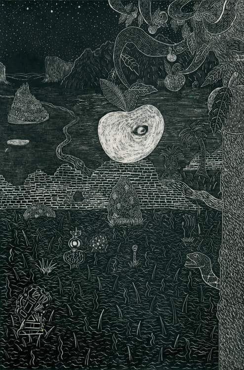Artwork by Lewis Lazar
