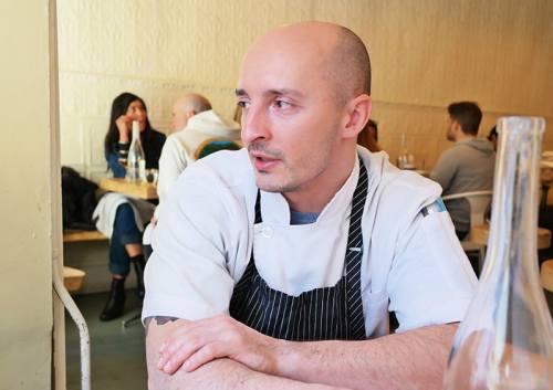 Chef Mateusz at Selamat Pagi. Photo via Matt Brown.