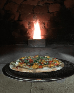 Pizza from wood burning oven; taken from Dar525 instragram