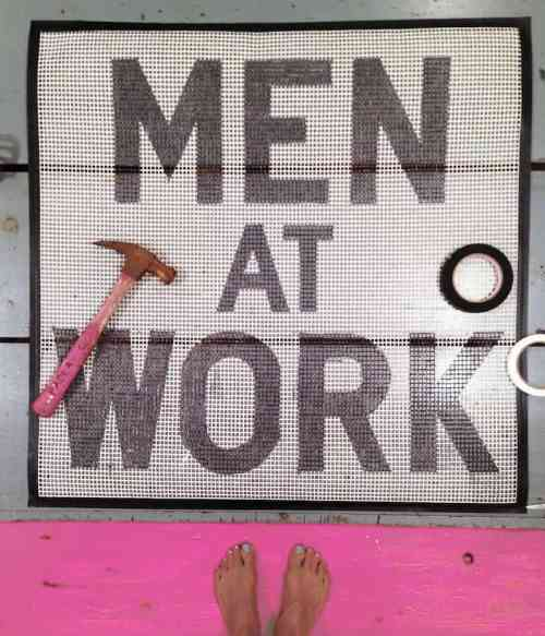 Men at Work by Paola Citterio
