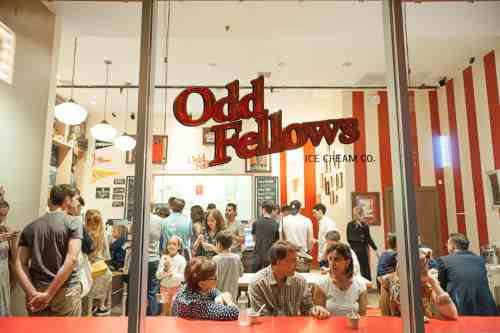 OddFellows Ice Cream Co. in Williamsburg