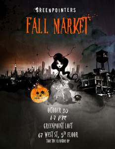 Greenpointers Fall Market Halloween 2016