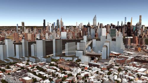 Greenpoint's future skyline (via CityRealty)