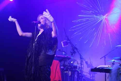 Roisin Murphy at Music Hall of Williamsburg on Friday night. All photos: Zachary Filkoff