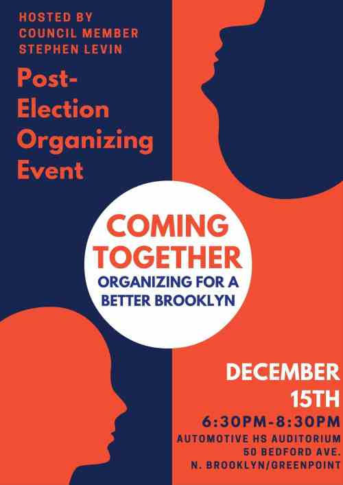 Coming Together - North Brooklyn Community Meeting