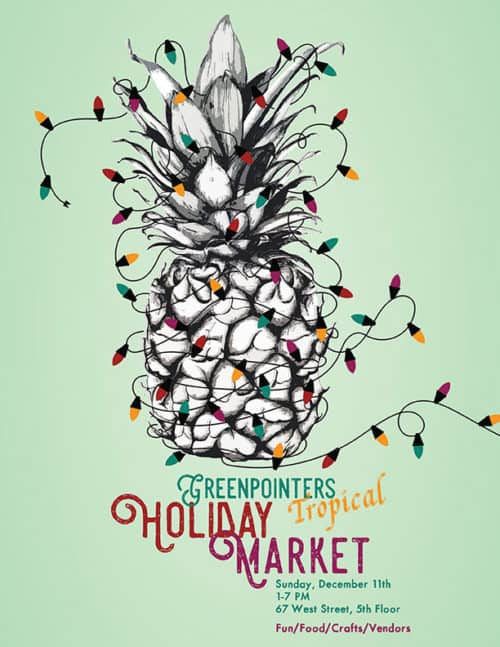 Greenpointers Holiday Tropical Market 2016