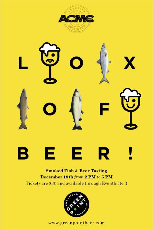 Lox of Beer - Greenpoint Beer & Ale