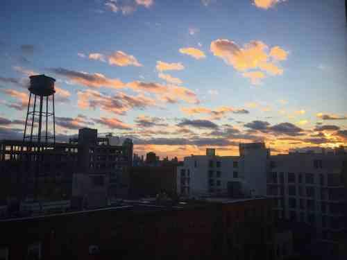 Greenpoint sunset. Photo: Megan Penmann