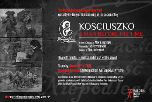 Polish Cultural Institute Film Screening