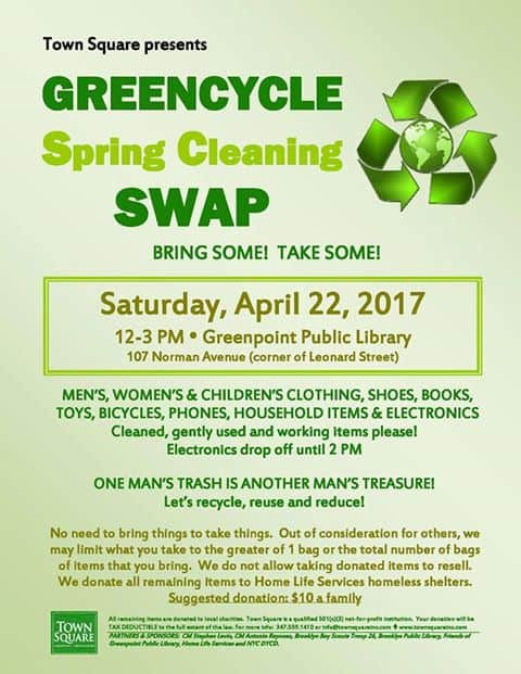 Greencycle Swap 4/22/17