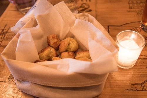 Gougeres at the Gentry, Brooklyn