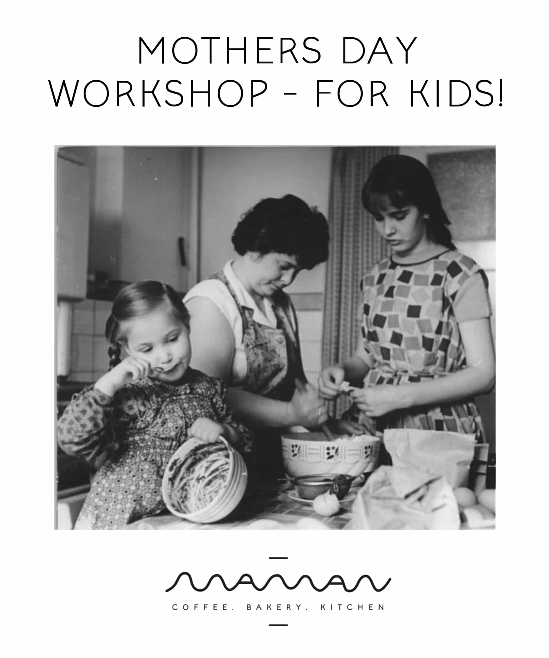 mothers day workshop for kids - greenpoint