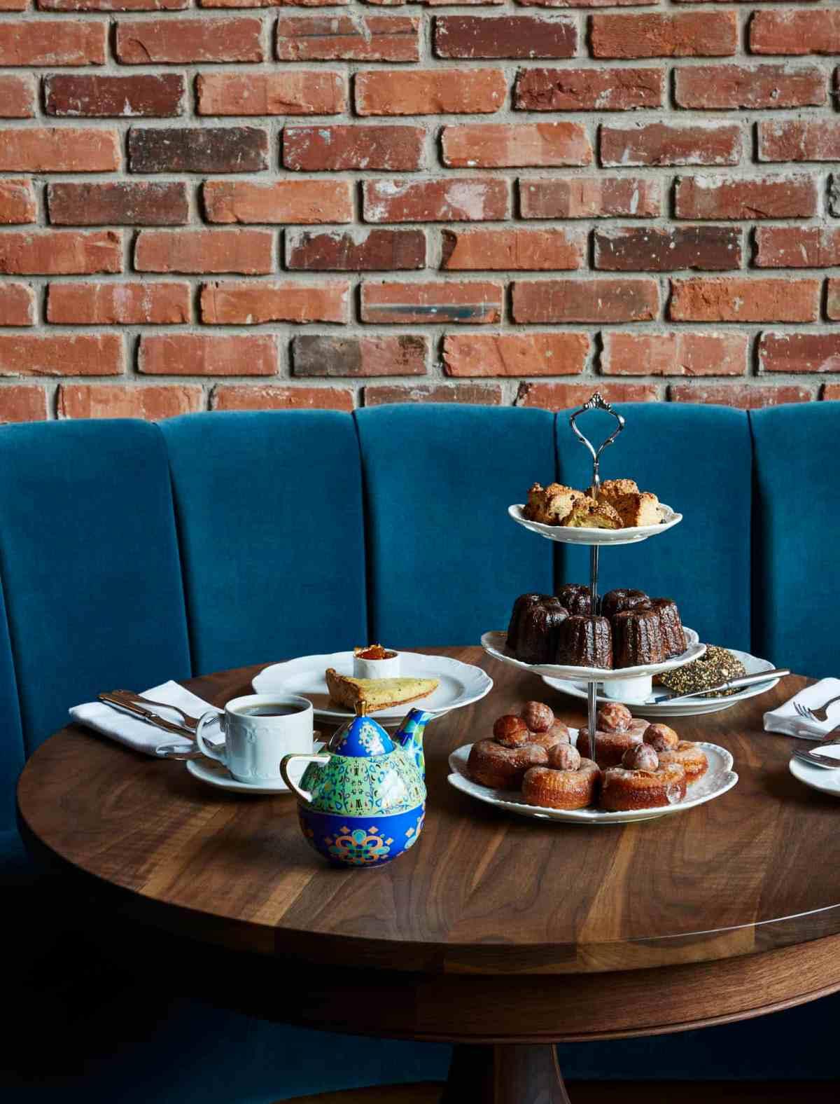 The Williamsburg Hotel - Tea service