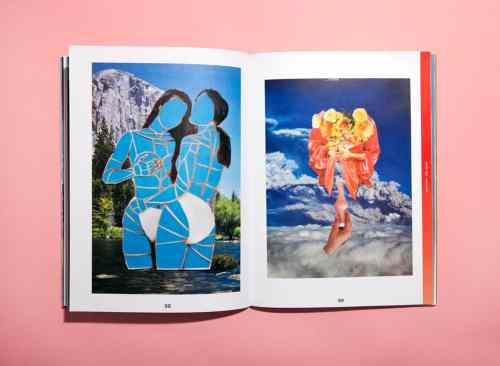 Spread from Tag Tag Tag Magazine (the work is by Zoe Ligon)