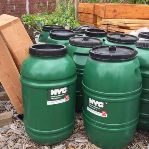 Free rain barrels Open Space Alliance