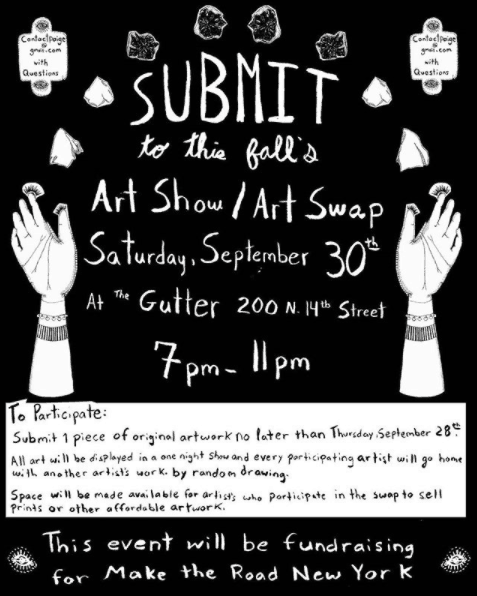 The Gutter Art Swap